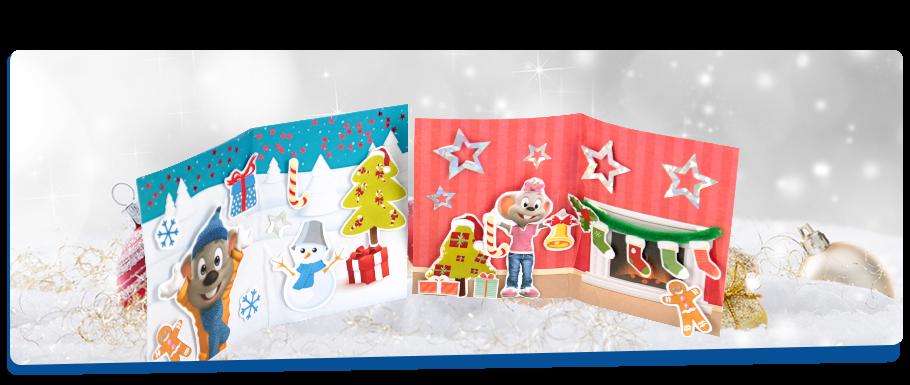 3d weihnachtskarte europa park junior club spielen. Black Bedroom Furniture Sets. Home Design Ideas