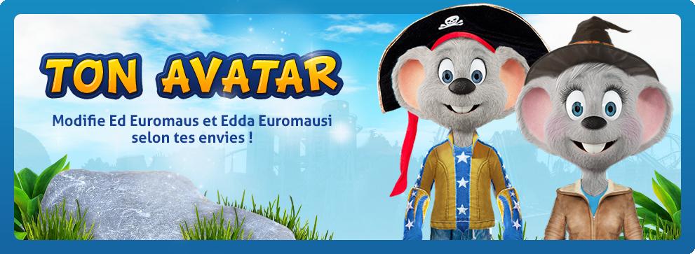 Page d accueil europa park junior club jouer - Cree ton avatar et decore ton apparte ...